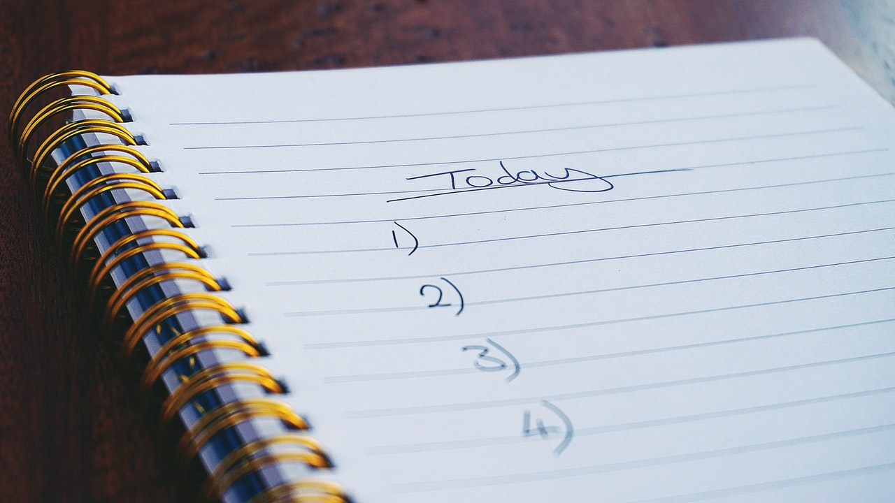 Create goals for each online learning study session